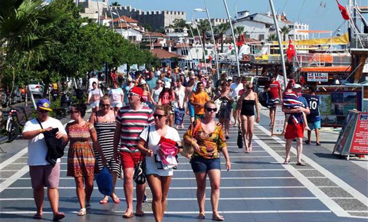 More Arab tourists coming to Turkey's Mediterranean resort Marmaris